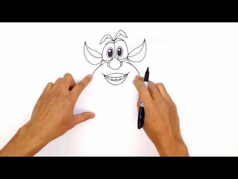 Как нарисовать Бубу?