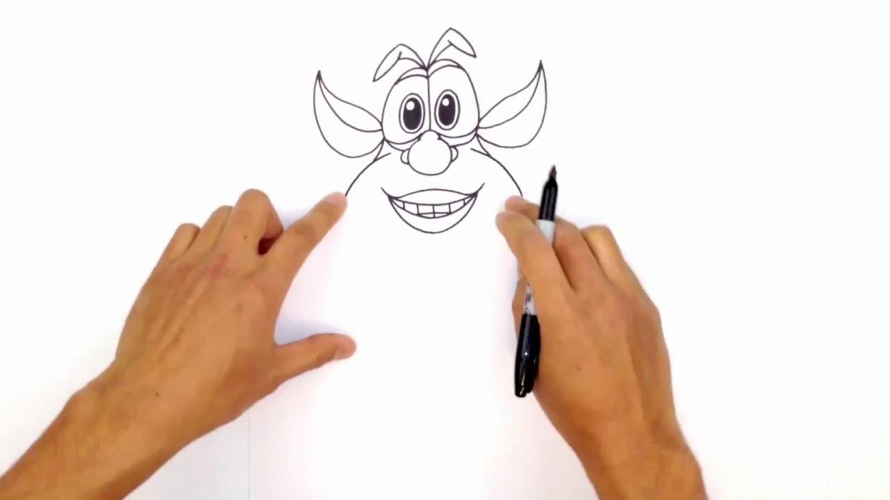 Как нарисовать Бубу? 😀 Смешной Мультфильм  😜 Классные Мультики