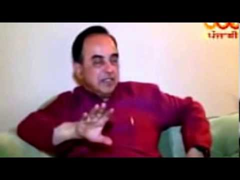 Subramanian Swamy and Operation Blue Star - His Personal Meeting with Jarnail Singh Bindrawale