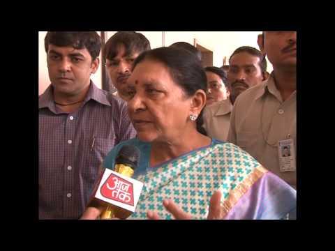 Gujarat CM's media byte after reviewing rainfall situations at Mahesana (hindi)