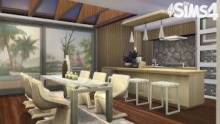 Perfect MODERN House | Stop Motion Speed build | The Sims 4 | NO CC