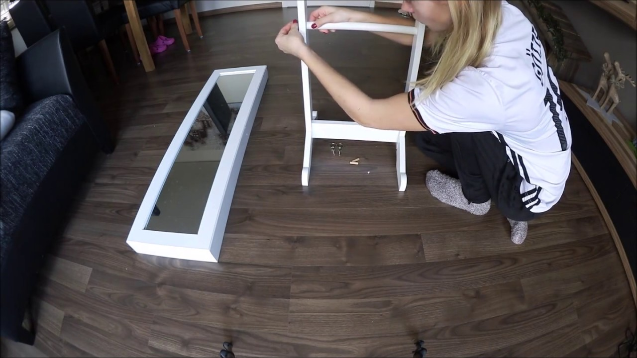 Mein Schmuckschrank - Der Aufbau - Tipps & Tricks - YouTube