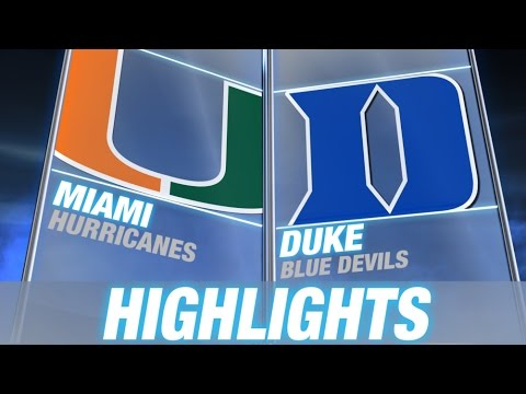 Miami vs Duke | 2014-15 ACC Men