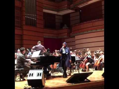 Siti Nurhaliza - Bersandar Cinta | Latihan Konsert Aubrey & Friends