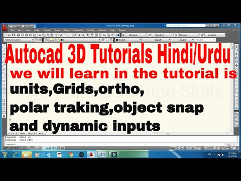 Autocad tutorial topic6|how
