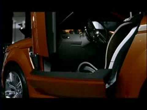 2004 Land Rover Range Stormer Concept promotional video