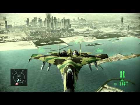 Ace Combat Assault Horizon -   Dubai   Su-35  ★★★