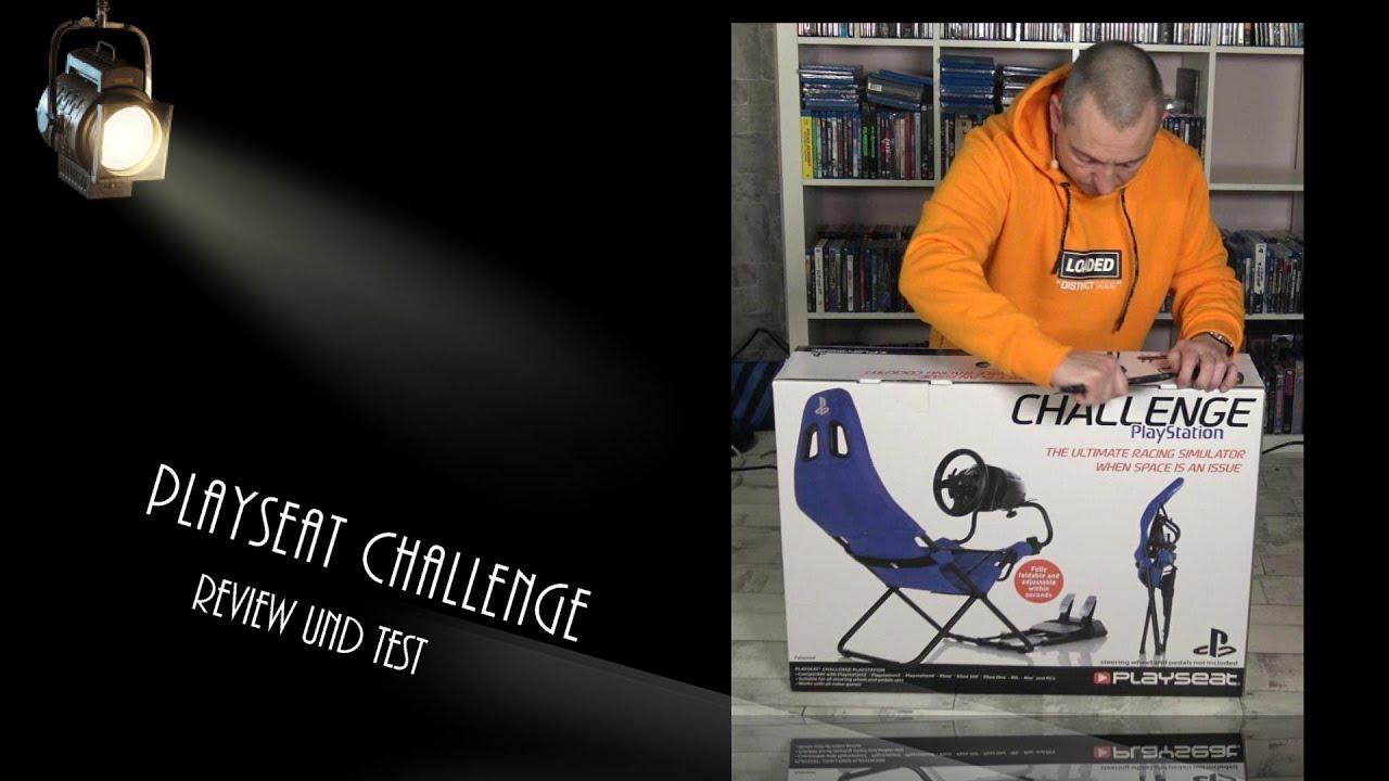 Playseat Challenge Review - Ein zusammenklappbarer Rennsitz fürs Simracing