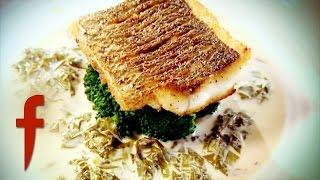 Fillet Of Seabass With Sorrel Sauce | Gordon Ramsay's The F Word Season 2