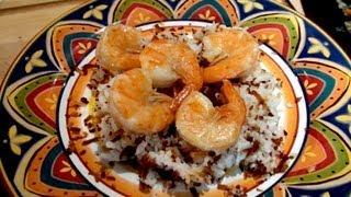 Mariah Milano's Shrimp With Coconut Rice