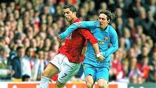 Pertama kali Ronaldo dan Messi bertemu dalam satu pertandingan
