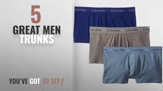 Top 10 Mens Trunks [ Winter 2018 ]: Calvin Klein Men