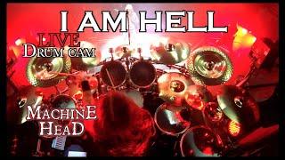 """Matt Alston - Machine Head """"I Am Hell"""" - Live Drum Cam 2019"""