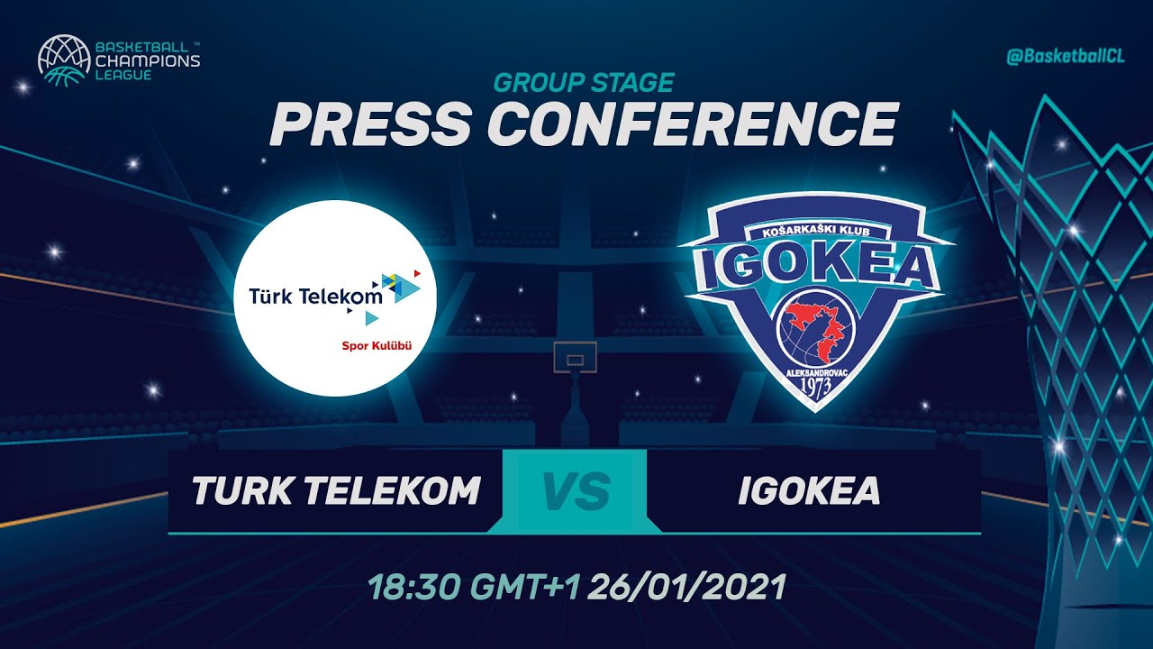Türk Telekom v Igokea - Press Conference