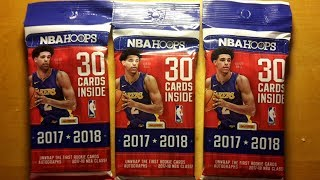 Panini 2017-18 NBA Hoops Fat Pack Opening and Review
