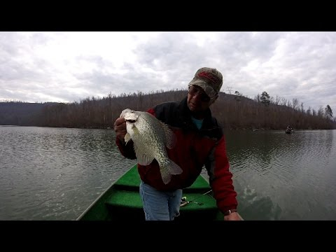 Crappie Fishing Creek Channels - Lake Guntersville