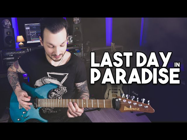 ´Last Day in Paradise´ by Dee Dammers (Song performance over Backing Track)