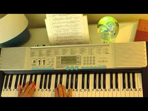How To Play ~ Amazed ~ Lonestar ~ Simplified Version ~ LetterNotePlayer ©