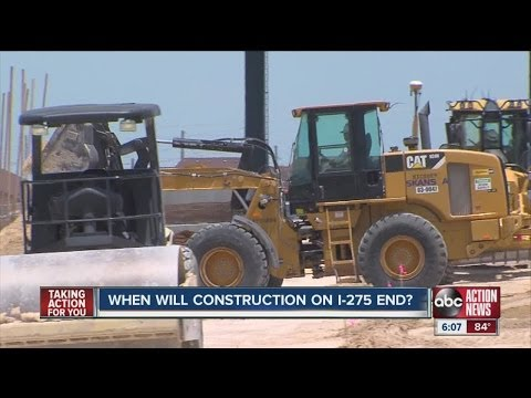 Tampa resident tire of highway construction