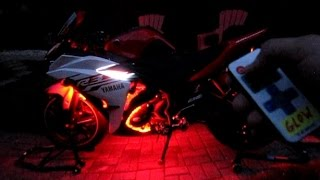 Basic led install on Yamaha R3