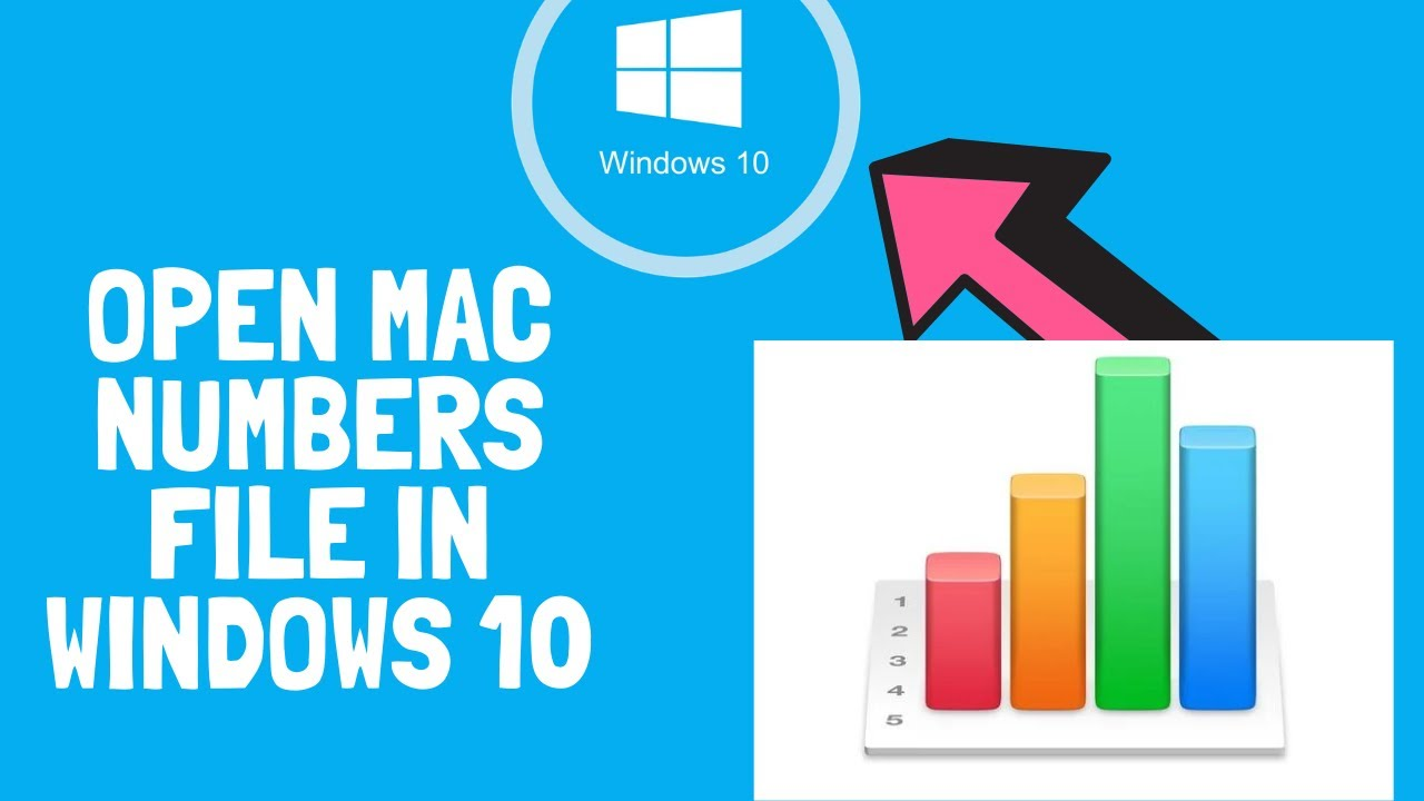 How to open mac numbers file windows - YouTube