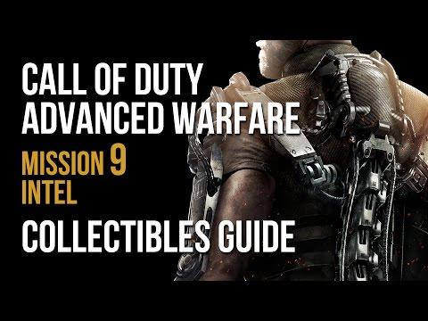 Call of Duty Advanced Warfare Mission 9 Crash Intel Collectibles Locations Guide