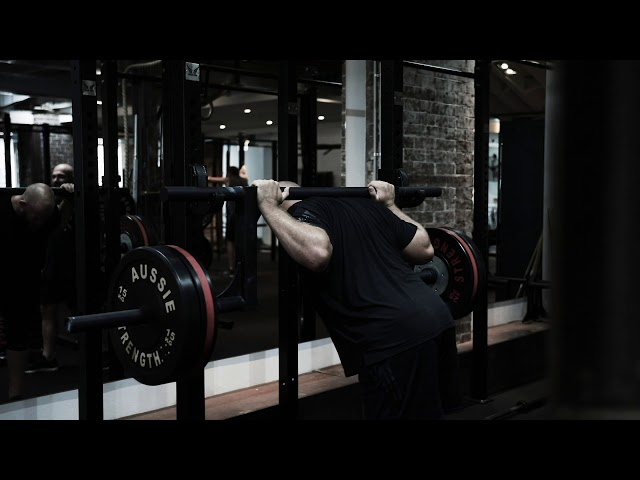 All Black Owen Franks Trains At 98 Gym
