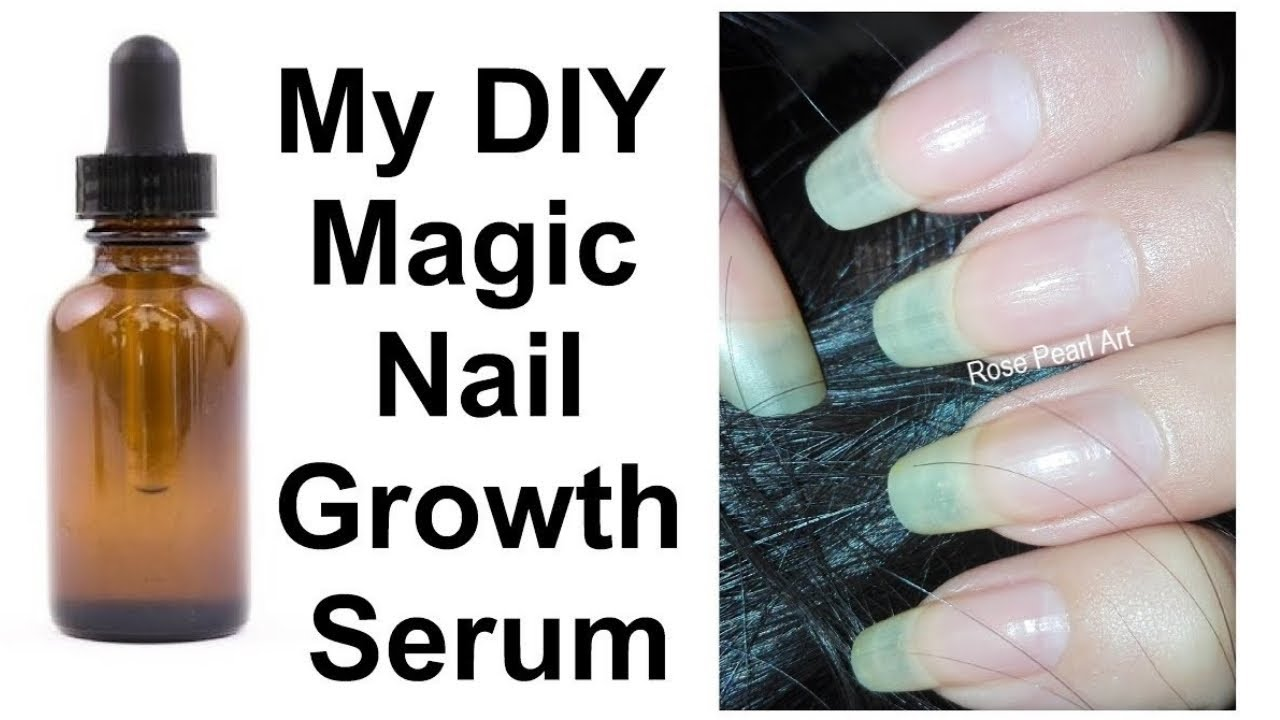 My Magic DIY Nail Growth Serum (For Those Who Hate Smell of Garlic ...
