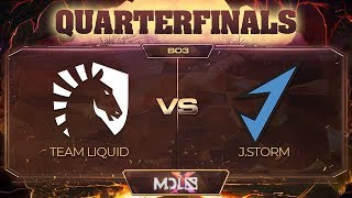 Team Liquid vs J.Storm Game 1 - MDL Chengdu Major: Quarterfinals