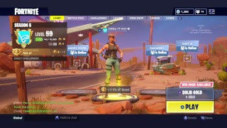 FORTNITE solid gold *220+ Wins**free galaxy skin with 15k vbucks GAW* link in desc
