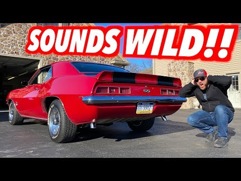 Putting A LOUD Exhaust On My 69 Camaro!!