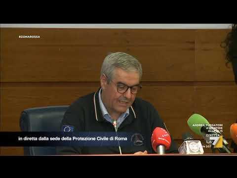 Coronavirus, Angelo Borrelli: '3 guariti, 400 persone contagiate'
