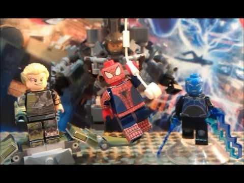Lego the amazing spider man 2 showcase youtube - Lego the amazing spider man 3 ...