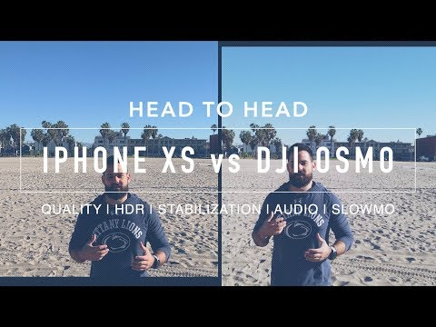 IPhone XS Max Vs DJI Osmo Pocket, Amazing Outcome!