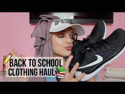 BACK TO SCHOOL CLOTHING HAUL 2016-17   Avery Morrison