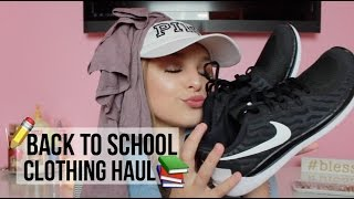 BACK TO SCHOOL CLOTHING HAUL 2016-17 | Avery Morrison