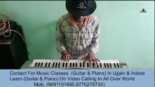 Wo Ladki Nahi Zindagi Hain Meri Piano Cover Yogesh Bhonsle