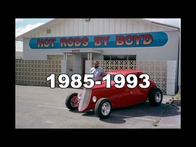 Boyd Coddington Garage Hot Rods By Boyd Flashback
