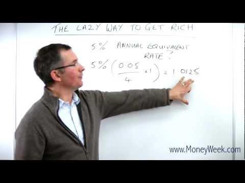 The lazy way to get rich - MoneyWeek Investment Tutorials