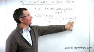 The lazy way to get rich - MoneyWeek Investment Tutorials