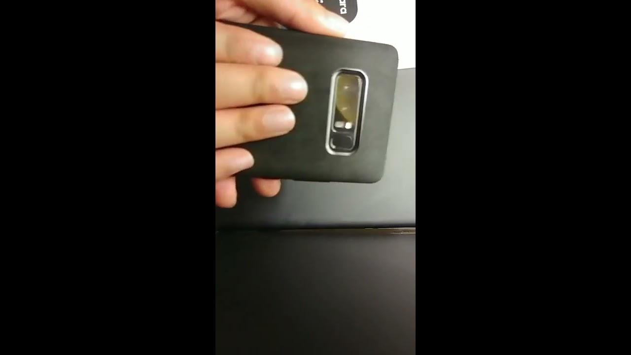 new arrival 39951 d239c Samsung Alcantara Cover For Galaxy Note 8