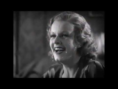Red Headed Woman (1932 )  Jean Harlow,  Una Merkel,  ~ Pre-Code  Scene