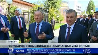 Ш.Мирзиёев лично встретил Президента Казахстана в аэропорту Ташкента