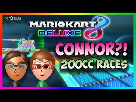 Catching up with CONNOR! (Mario Kart 8 Deluxe - 200cc Online Races)