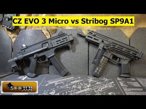 CZ EVO 3 S2 Micro vs Stribog SP9A1 Gen 2
