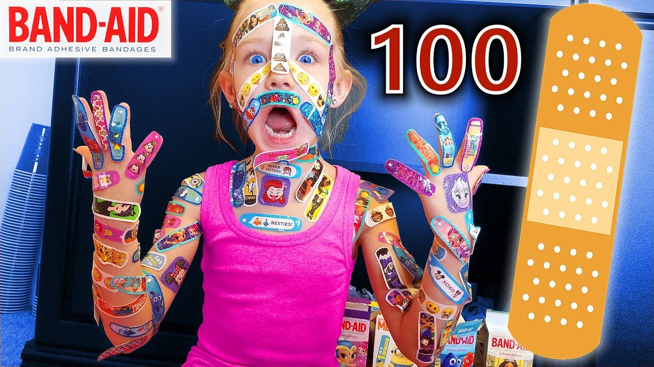 100 Layers Of Band Aids Madison Still Hates Bandaids