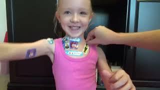 100 Layers of Band-Aids!! | Madison Still Hates Bandaids!