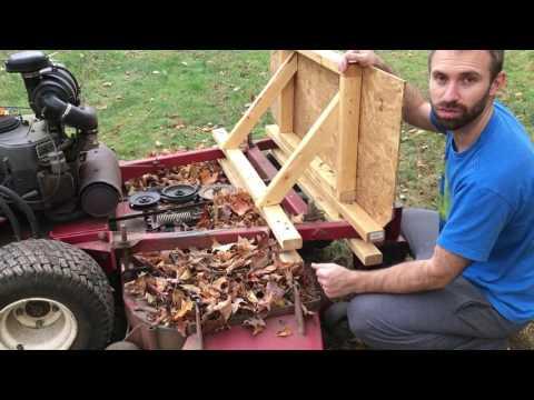 how I made my Leaf Plow