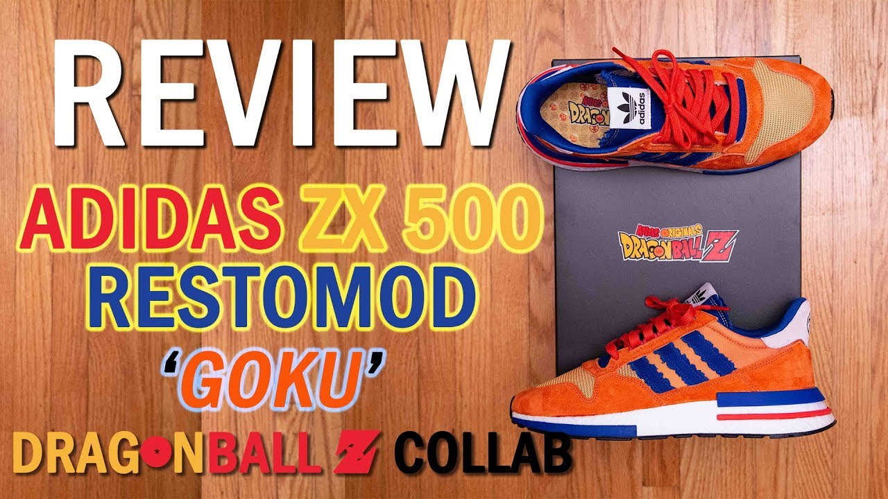 new style 0ff9a 4e2ae His Power Level is OVER 9000!    adidas x Dragonball Z ZX 500 RM (Restomod)  'Goku' Review