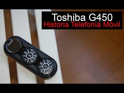 Toshiba G450, anunciado en 2008   Historia Telefonía Móvil